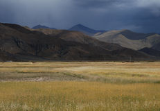 Tibetan  countryside Royalty Free Stock Images