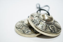 Tibetan Cymbals Royalty Free Stock Photo