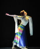 Tibetan Dance: Ge Sanghua Stock Photo