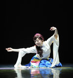 Tibetan Dance: Ge Sanghua Stock Photos