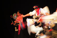 Tibetan Dance. The Tibetan Institute of Performing Arts (TIPA) is the premiere exile institute entrusted with the responsibility of preserving and promoting Royalty Free Stock Image