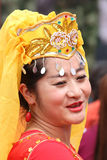 Tibetan dancer Stock Photo
