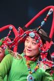 Tibetan dancer Stock Image