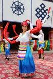 Tibetan dancers Stock Images