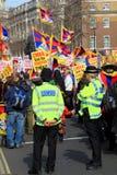 Tibetan Demonstration Stock Image
