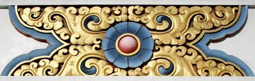tibetan designmanangstupa Arkivfoton