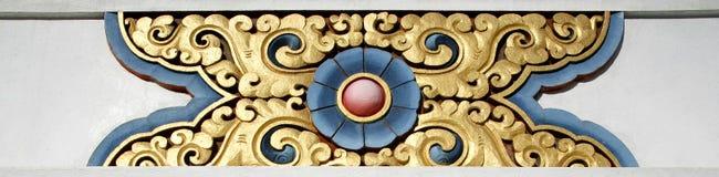 tibetan designstupa Royaltyfria Bilder
