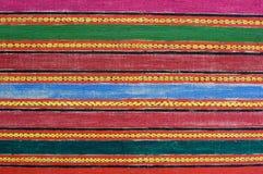 Tibetan doeksteekproef Stock Afbeeldingen