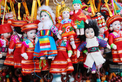 Tibetan dolls Royalty Free Stock Photo