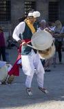 Tibetan Drummer Royalty Free Stock Photos