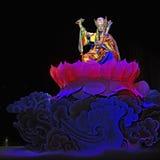 Tibetan etnisch dansdrama   stock foto's