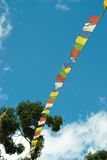 Tibetan flags Royalty Free Stock Photography