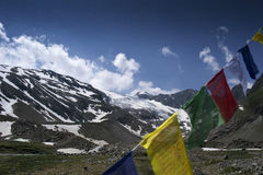 Tibetan flags Royalty Free Stock Image