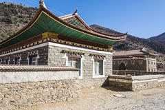 Tibetan folk house Stock Images