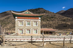 Tibetan folk house Stock Photography
