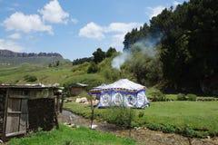 Tibetan Gannan landscape Royalty Free Stock Photography