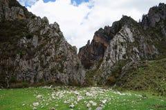 Tibetan Gannan landscape Royalty Free Stock Photo
