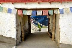 Tibetan gates Stock Image