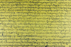 Tibetan geschrift Royalty-vrije Stock Foto's