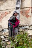 Tibetan girl Stock Photography