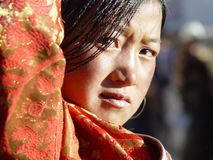 Tibetan girl Royalty Free Stock Photography
