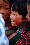 Tibetan girl Royalty Free Stock Photography