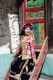 Tibetan Girl Royalty Free Stock Photo