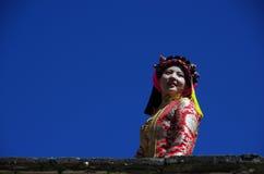 Tibetan Girl Stock Photos
