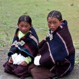 Tibetan girls Royalty Free Stock Images