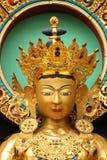 Tibetan Golden Buddha Temple Coorg Stock Photography