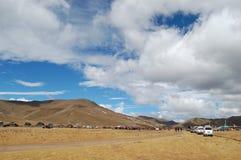 tibetan grassland festival Royalty Free Stock Photography