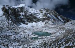 Tibetan high-mountain lake Royalty Free Stock Photos