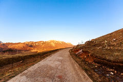 Tibetan highlands Stock Photo