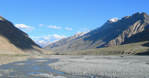 Tibetan Himalayas in India, East Asia Stock Photography