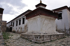 A Tibetan house Royalty Free Stock Photos