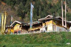 Tibetan house Stock Photos