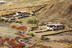 Tibetan house Royalty Free Stock Photo