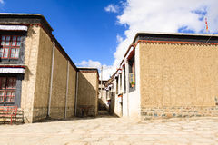 Tibetan house Stock Photography
