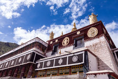 Tibetan house Royalty Free Stock Photography