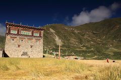 Tibetan house Royalty Free Stock Photos