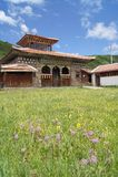 Tibetan house stock images