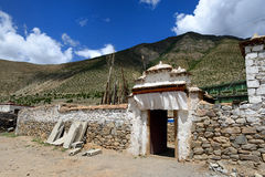 Tibetan house Stock Photos