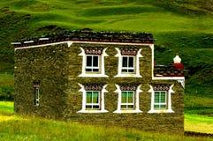Tibetan houses Royalty Free Stock Image