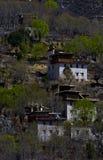 Tibetan houses Royalty Free Stock Photos