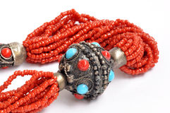 Tibetan Jewelries Stock Photos