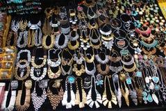 Tibetan Jewelries stock photography
