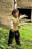 Tibetan kid portrait Royalty Free Stock Photos