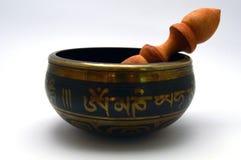 Tibetan klok Stock Afbeelding