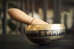 Tibetan klok royalty-vrije stock foto