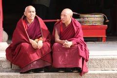 tibetan kloster Arkivfoton